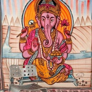 Ganesha tapestry from Urban Outfitters